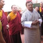 Bhutanese Minister Visiting Namdroling