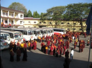 Leaving on the Bus for Bodh Gaya