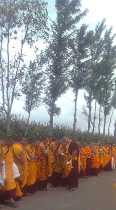 Graduates of Ngagyur Nyingma Institute by Lopon Karma Gyatso